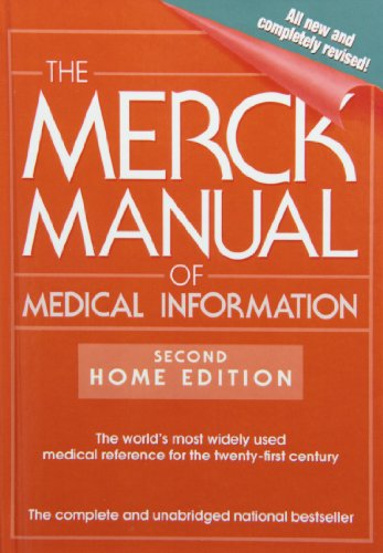 9781435290334: The Merck Manual of Medical Information: Second Home Edition (Merck Manual of Medical Information Home Edition)