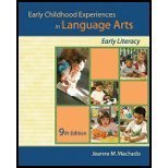 9781435400207: Early Childhood Experiences in Language Arts: Early Literacy [With Supplement]