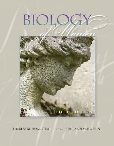 9781435400337: Biology of Women