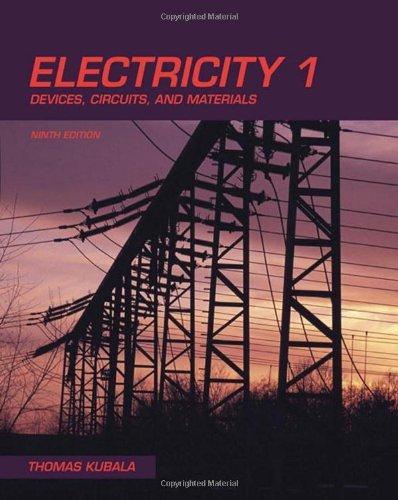 9781435400726: Electricity 1: Devices, Circuits & Materials