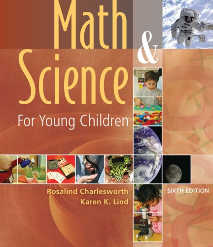 9781435400948: Math and Science for Young Children with Professional Enhancement Book