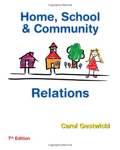 9781435401082: Home, School, and Community Relations