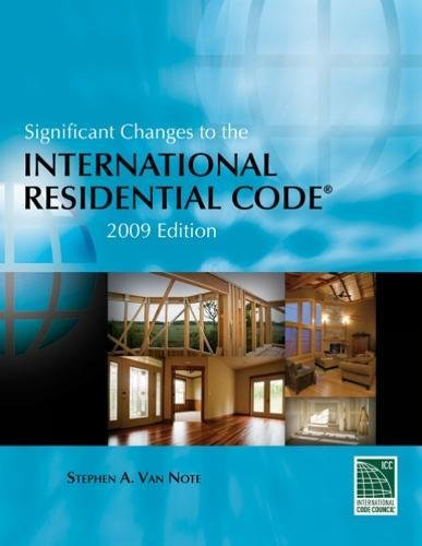 9781435401228: Significant Changes to the International Residential Code: 2009 Edition