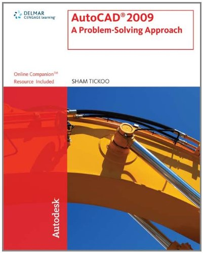 9781435402577: AutoCAD 2009: A Problem Solving Approach