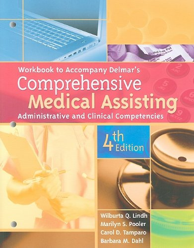 9781435419155: Workbook for Delmar's Comprehensive Medical Assisting: Administrative and Clinical Competencies, 4th