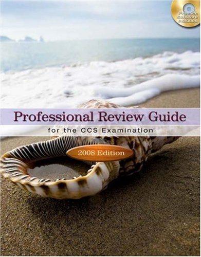 9781435419315: Professional Review Guide for the CCS Examination, 2008 Edition (Professional Review Guide for the CCS Examinations)