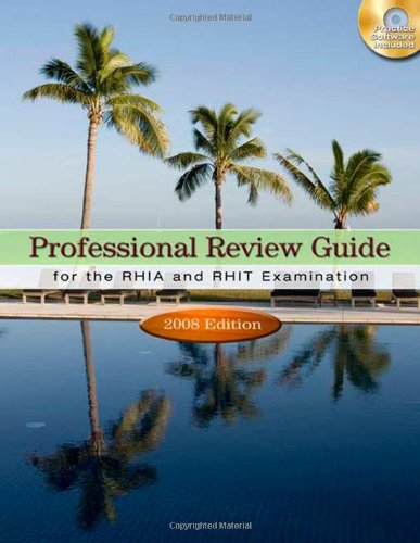 9781435419339: Professional Review Guide for the RHIA and RHIT Examinations, 2008 Edition (Professional Review Guide for the RHIA & RHIT)
