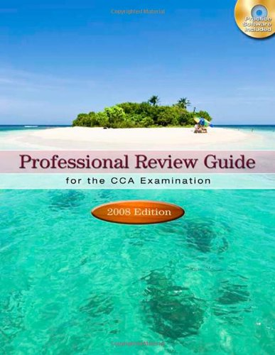 9781435419346: Professional Review Guide for the CCA Examination, 2008 Edition
