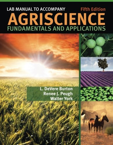 9781435419681: Lab Manual for Burton's Agriscience Fundamentals and Applications, 5th