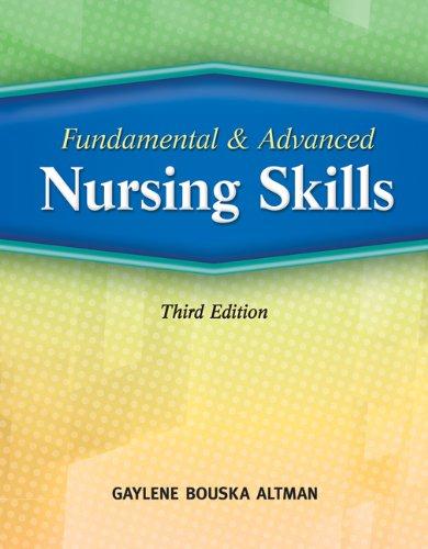 9781435423640: Bundle: Fundamental and Advanced Nursing Skills, 3rd + Delmar's Comprehensive Nursing Skills DVD-ROM, 2nd