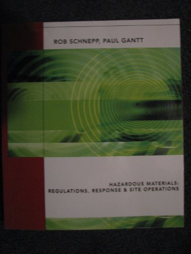 9781435424647: Hazardous Materials- Regulations, Response, & Site Operations 2nd EDITION