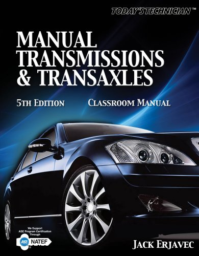 9781435426856: Manual Transmissions and Transaxles Classroom Manual