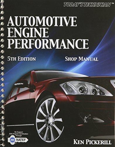 9781435428119: Automotive Engine Performance Classroom Manu Al and Shop Manual