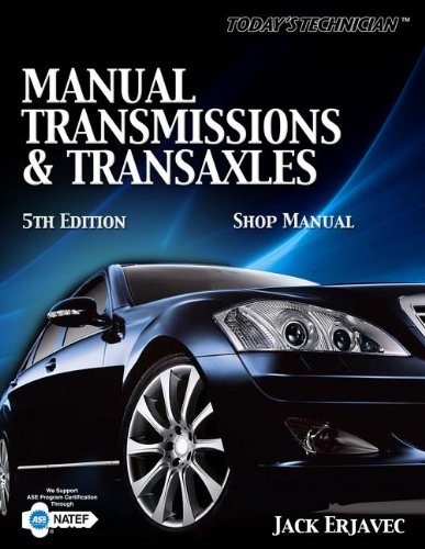 9781435428355: Manual Transmissions & Transaxles (Today's Technician)