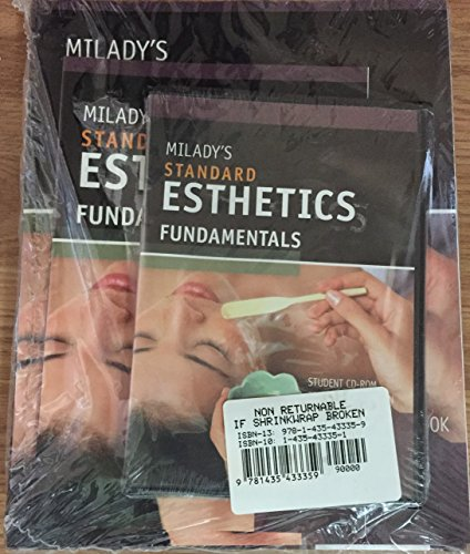 9781435433359: Milady Standard Fundamentals for Estheticians Package