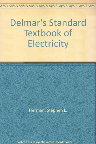 9781435435339: Delmar's Standard Textbook of Electricity