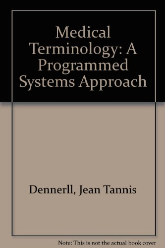 9781435435667: Medical Terminology: A Programmed Systems Approach