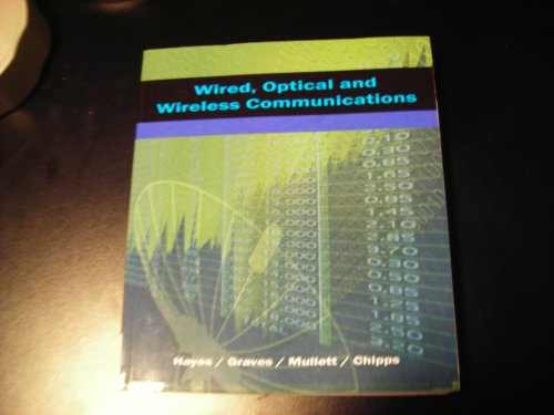 Wired, Optical and Wireless Communication: Hayes