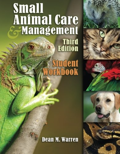 9781435453371: Student Workbook for Warren's Small Animal Care and Management