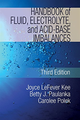 9781435453685: Handbook of Fluid, Electrolyte, and Acid-Base Imbalances (Nursing Reference)
