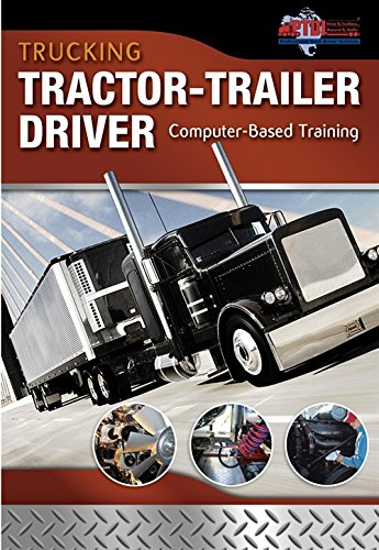 9781435454064: Trucking: Tractor-Trailer Driver Computer Based Training, CD-ROM (Automotive Multimedia Solutions)