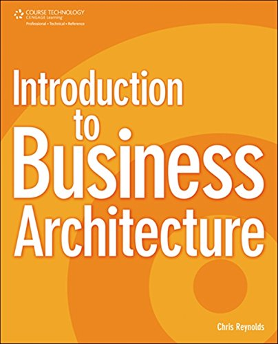 9781435454224: Introduction to Business Architecture