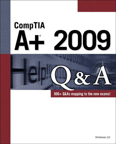 9781435454903: CompTIA A+ 2009 Q&A