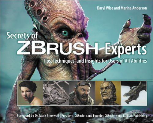 9781435458970: Secrets of Zbrush Experts: Tips, Techniques, and Insights for Users of All Abilities