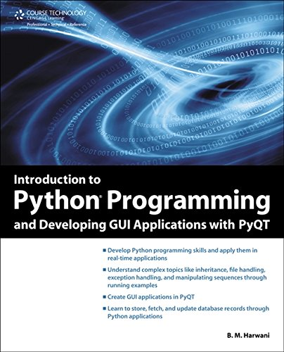 9781435460973: Introduction to Python Programming and Developing GUI Applications with Pyqt