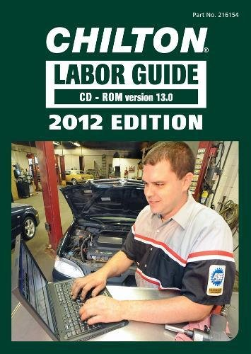 9781435461543: Chilton 2012 Labor Guide: Domestic & Imported Vehicles - CD-Rom