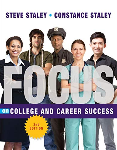 9781435462373: FOCUS on College and Career Success (Cengage Learning's FOCUS Series)