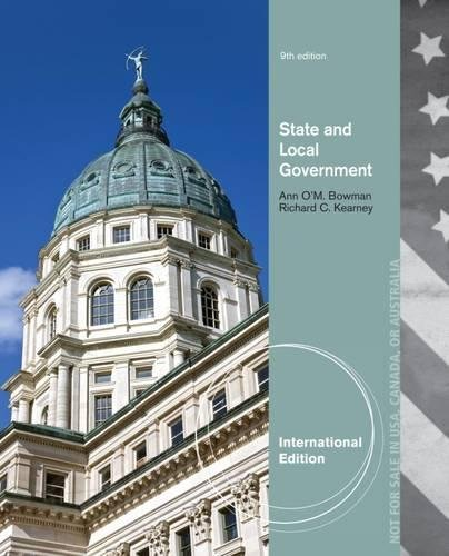 State and Local Government, International Edition [Paperback]