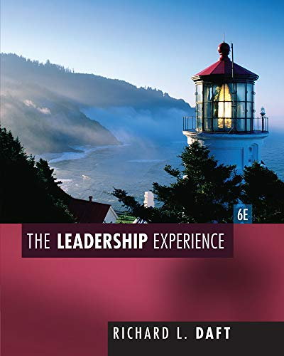 9781435462854: The Leadership Experience