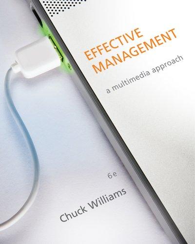 Effective Management: Williams, Chuck