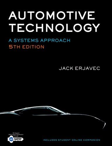 Bundle: Automotive Technology: A Systems Approach, 5th: Jack Erjavec