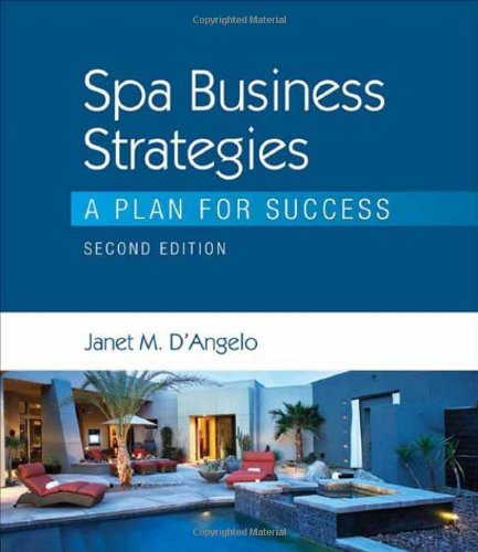 9781435482098: Spa Business Strategies: A Plan for Success