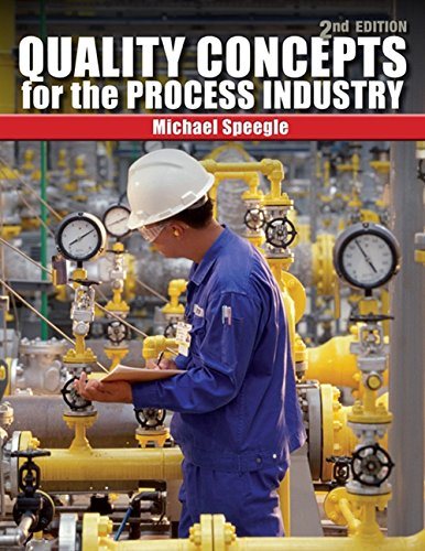 9781435482449: Quality Concepts for the Process Industry