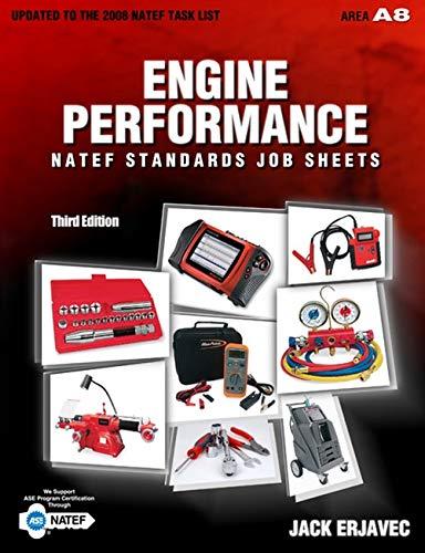 9781435483231: Natef Standards Job Sheets / Engine Performance A8