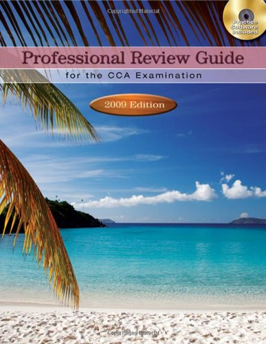 9781435485358: Professional Review Guide for the CCA Examination: 2009 Edition