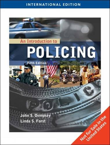 9781435485488: An Introduction to Policing