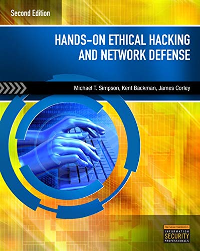 9781435486096: Hands-On Ethical Hacking and Network Defense