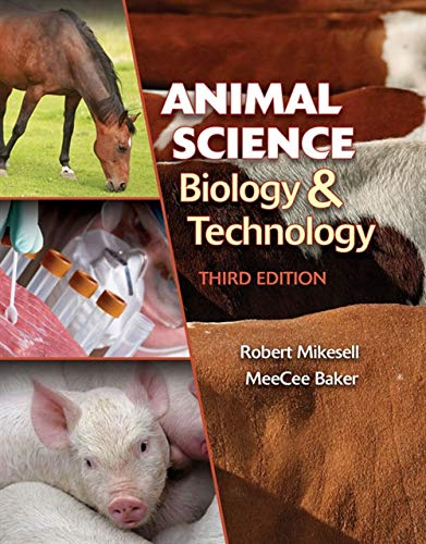 9781435486379: Animal Science Biology and Technology (Texas Science)