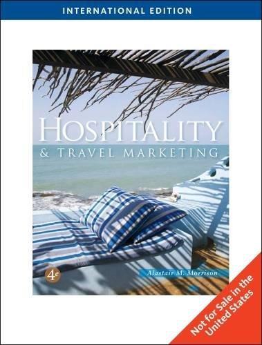 9781435486867: Hospitality and Travel Marketing, International Edition