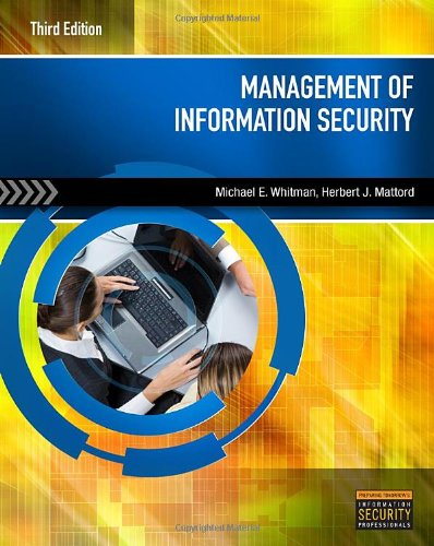 9781435488847: Management of Information Security