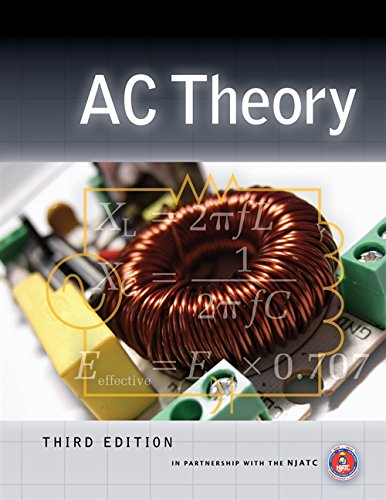 Ac Theory 9781435489028 Designed to provide readers with a thorough introduction to Alternating Current electrical characteristics and circuit construction, AC THEORY, 3rd edition explores the complexities of this more advanced circuit theory by building on the basics established in direct current theory. The book begins with an overview of the primary components of AC circuits, such as resistors, inductors, and capacitors, and then gradually introduces new, more complicated topics like applying AC principles in power generation and generators, parallel and combination circuits, troubleshooting and evaluation of circuit conditions, and more. With the same reader-friendly approach and practical examples that made previous editions so successful, this updated 3rd edition uses the most current technologies and trends to provide an ideal resource for anyone seeking a fundamental knowledge of AC theory. Check out our app, DEWALT Mobile Pro . This free app is a construction calculator with integrated reference materials and access to hundreds of additional calculations as add-ons. To learn more, visit dewalt.com/mobilepro.