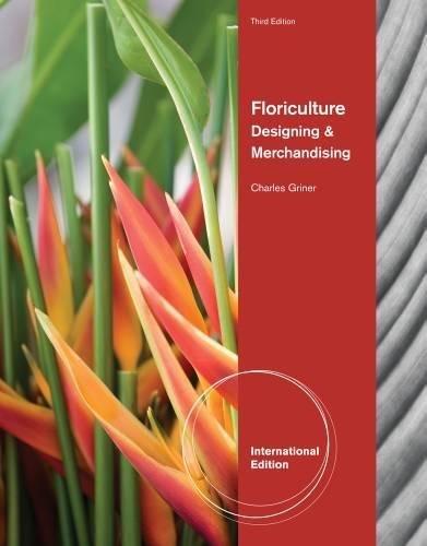 9781435489325: Floriculture: Designing & Merchandising