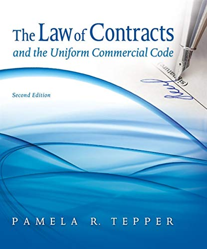 9781435497337: The Law of Contracts and the Uniform Commercial Code