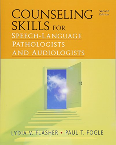 9781435499362: Counseling Skills for Speech-Language Pathologists and Audiologists
