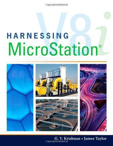 9781435499843: Harnessing MicroStation V8I