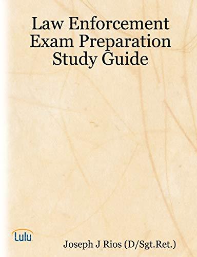 9781435700956: Law Enforcement Exam Preparation Study Guide